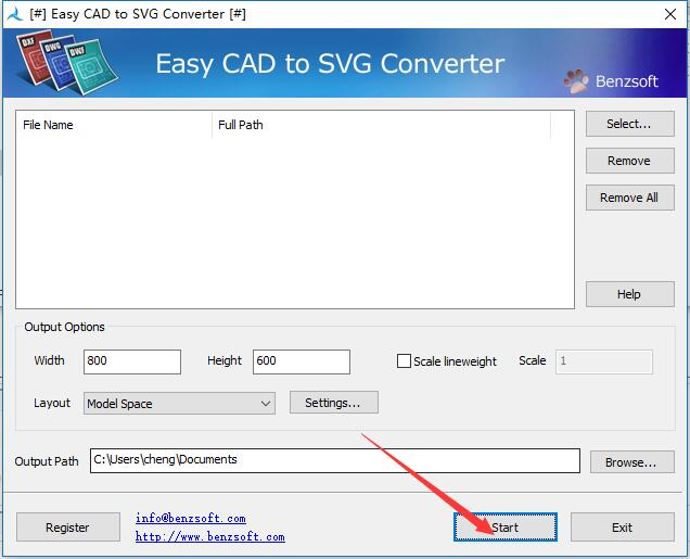 CAD转SVG工具(Easy CAD to SVG Converter)